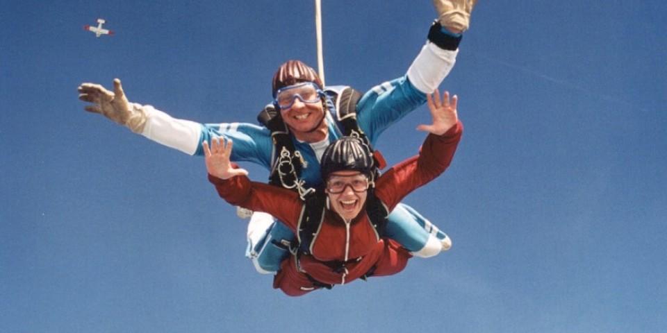 NHS Birthday Skydive