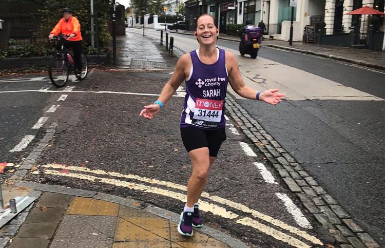 Our biggest London Marathon team ever!